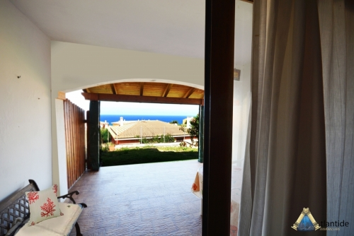 Ground floor with sea view 250 meters from the beach